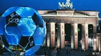 Fußball Globus FIFA WM 2006