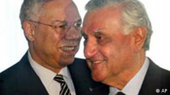 Colin Powell, Adnan Pachachi