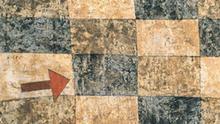 Ausschnitt aus Paul Klee, der Gegenpfeil