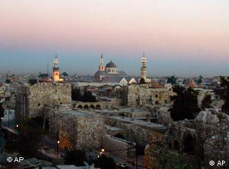 Die Altstadt von Damaskus, Foto: ap