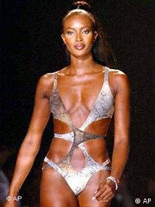 Modewoche in New York Naomi Campbell