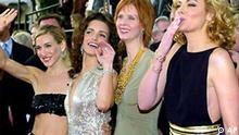 Sex and the City cast: Sarah Jessica Parker, Kristin Davis, Cynthia Nixon and Kim Cattrall (l-r), photo