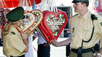 У немецкой полиции есть и женское лицо