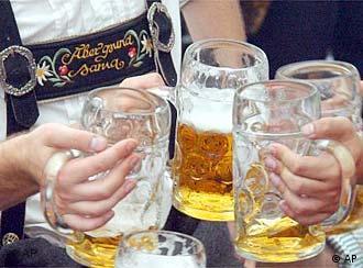 Liters of beer