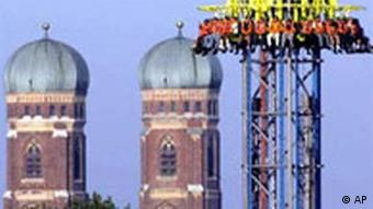 Power Tower at the Oktoberfest