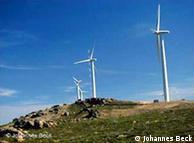 Cata-ventos em  Portugal, construídos com tecnologia alemã