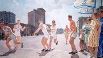 Traumfabrik Kommunismus - Deineka Staffellauf 1947