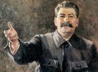Портрет на Сталин от <br>1939 г. на Герасимов