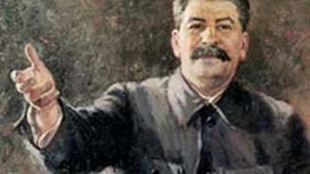 Gerassimow's portrait of Stalin.