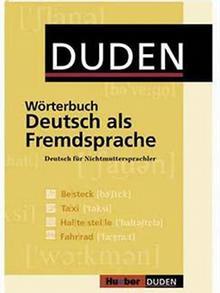 Coverbild Wörterbuch Deutsch als Fremdsprache