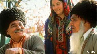 Советская Туркмения. Пропагандистское фото времен СССР