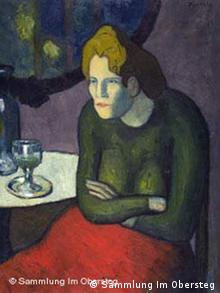 Pablo Picasso The Absinthe Drinker