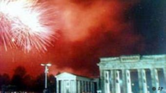 Feuerwerk Brandenburger Tor