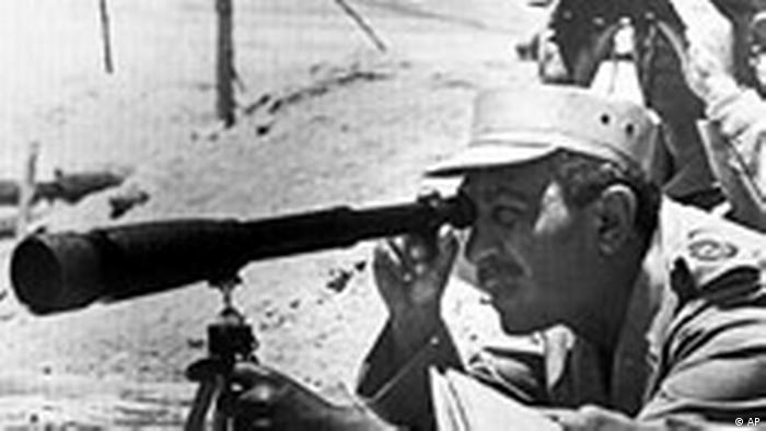 Anwar al-Sadat Yomkibur Yom Kippur Krieg Israel Arabische Staaten 1973 Sinai halbinsel