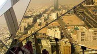 Riad der Kingdom Tower, Saudi Arabien, Hochhaus