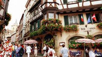 Altstadt von Colmar in Elsass