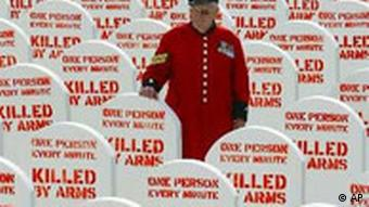 Grave stones: One person killed every minute by small arms