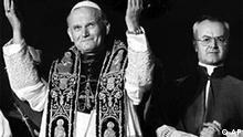 Galerie Papst 25 Jahre neu gewählt