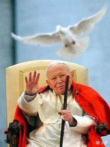 Galerie Papst 25 Jahre Friedenstaube