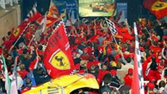 Galerie Schumacher Saison 2003 - Fans in Kerpen