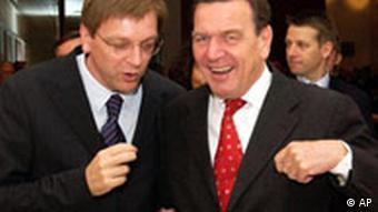 Schröder und Verhofstadt